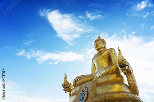 Fotografie, Obraz  Big Buddha Phuket - Golden Buddha