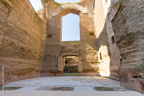 Terme Di Caracalla Roma Buy This Stock Photo And Explore Similar