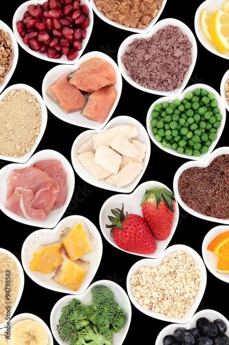 Fototapety, obrazy: Body Building Foods
