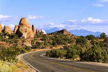 Road In Arches National Park, Utah