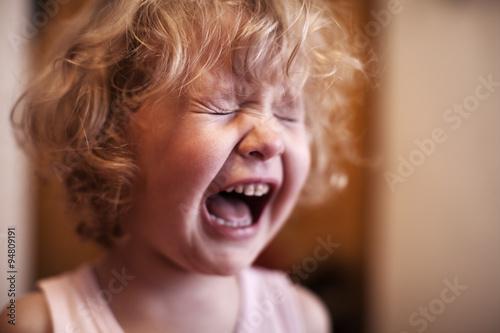 Bébé qui pleure Tableau sur Toile