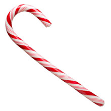 Mint Hard Candy Cane Striped I...