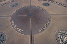 Four Corners Of Colorado, Utah, New Mexico And Arizona