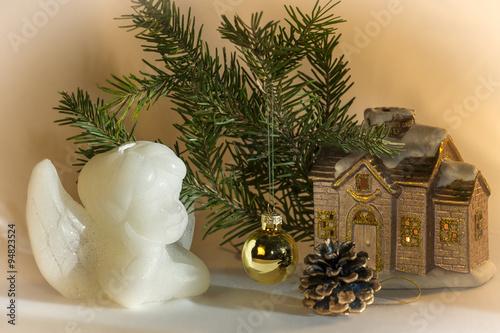 Fototapety, obrazy: рождественская открытка