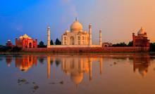 Taj Mahal, Agra, India, On Sun...
