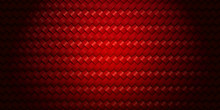 Red Woven Texture Background