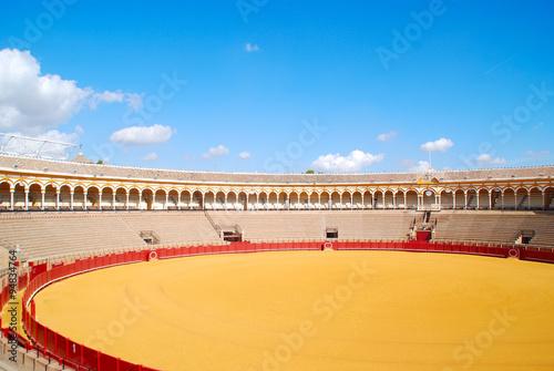 Fotografie, Obraz  Plaza de Toros DE LA REAL Maestranza de Sevilla