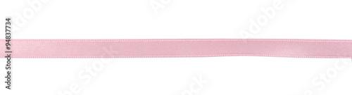 Fotografia Pink ribbon isolated on white