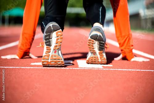 Fotografia  Gotowy do sprintu