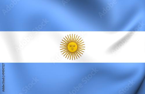 Fotografie, Tablou  Flag of Argentina