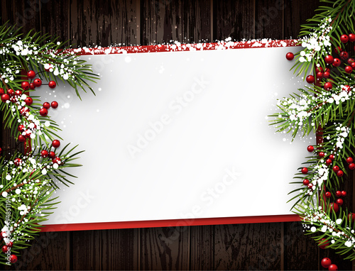 Fotografía  Christmas card.