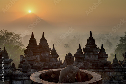 Wall Murals Place of worship Borobudur Temple