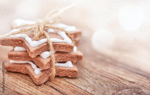 Pinturas sobre lienzo  Christmas biscuits, gingerbread