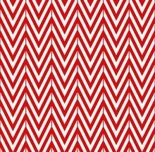 Red Chevron Pattern.