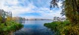 Fototapeta Na ścianę - Jezioro Panorama jesienna
