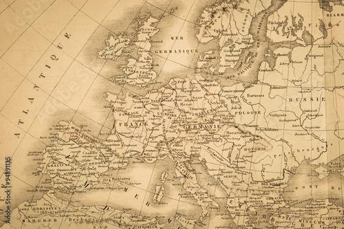 Zdjęcie XXL Kontynent kontynentu antycznego Europy