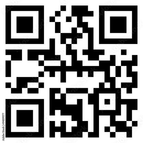 Fotografie, Obraz  picture of qr
