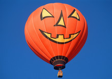 Halloween Pumpkin Hot Air Ball...