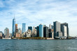 Downtown Manhattan from water