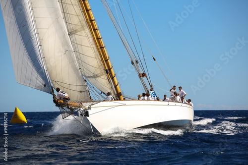 Staande foto Zeilen voiliers