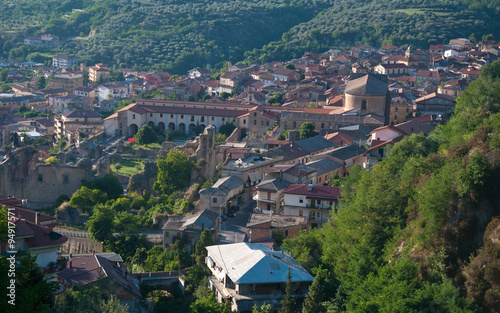 Soriano Calabro, a small town at the foot of the Sila in Calabria Tablou Canvas
