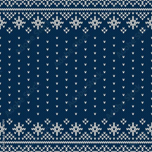 b16bac480385 Winter Holiday Sweater Design. Seamless Knitting Pattern - Buy this ...