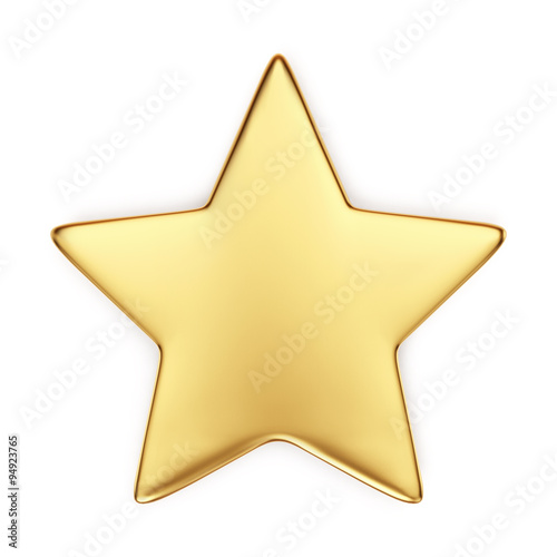 Photo Gold star