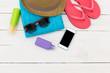 Women's beach clothes & accessories