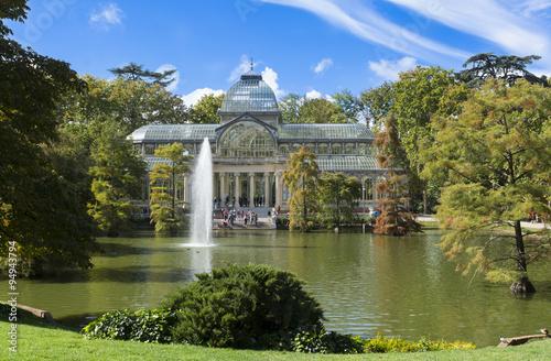 In de dag Madrid Palacio de cristal,Madrid