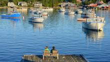 Rural Fishing Village  Near Acadia National Park