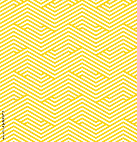 striped geometric pattern Canvas Print