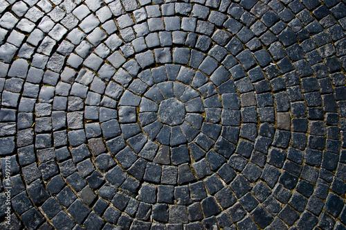 Cuadros en Lienzo Cobble Circular Pattern