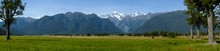 Southern Alps From Lake Matheson