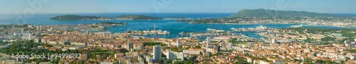 Poster Algerije Panorama of Toulon