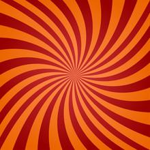 Red Orange Twisted Background