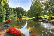Charming Park Sigurta In Northern Italy