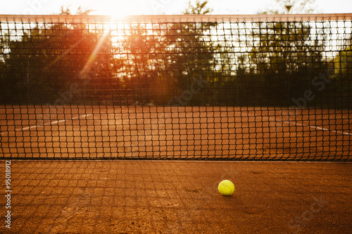 Photo  Tennis court