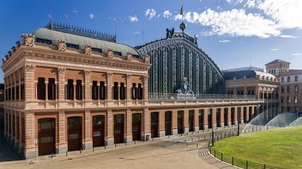 Atocha Railway Station, Madrid, Spain.