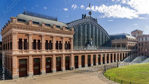 Foto auf AluDibond Bahnhof Atocha Railway Station, Madrid, Spain.