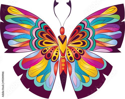 piekny-motyl-w-stylu-witrazu
