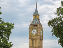 Detail Shot Of The Big Ben Wit...