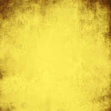 Yellow Grunge Wall For Texture...