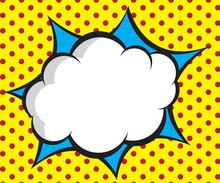 Speech Bubble Pop Art,comic Bo...
