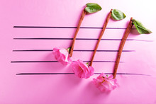 Creative Music Notes Made Of F...