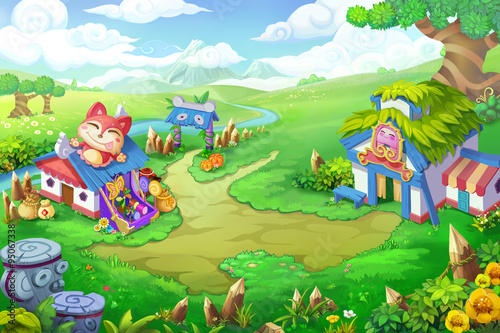 Wonder Land - Scene Design