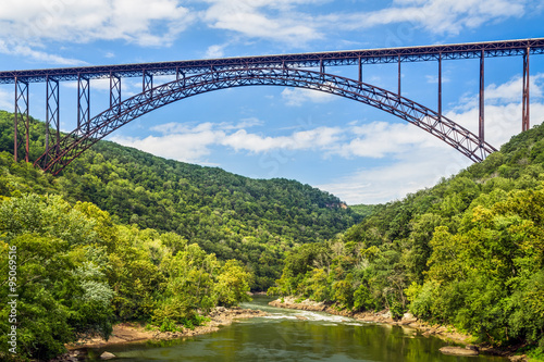 Printed kitchen splashbacks Bridge New River Gorge Bridge