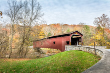 Covered Bridge In Pennsylvania...