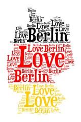 Fototapeta Berlin Love Berlin