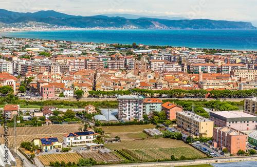 City of Albenga- Albenga, Savona, Liguria, Italy Wallpaper Mural