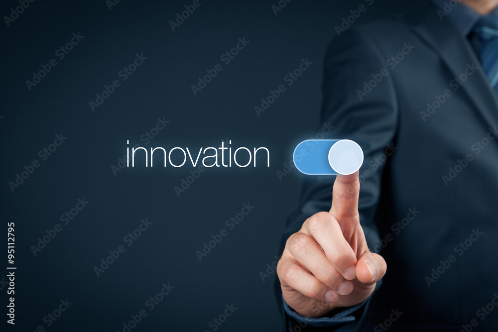 Fototapety, obrazy: Innovation in business